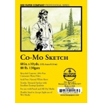 """Bee Paper® Co-Mo Sketch Roll 60"""" x 10yd; Color: White/Ivory; Format: Roll; Size: 60"""" x 10 yd; Type: Drawing; Weight: 80 lb; (model B820R-1060), price per roll"""