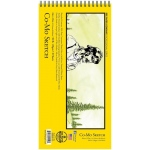 "Bee Paper® Co-Mo Sketch Pad 6"" x 12""; Binding: Wire Bound; Color: White/Ivory; Format: Pad; Quantity: 30 Sheets; Size: 6"" x 12""; Type: Drawing; Weight: 80 lb; (model B820S30-612), price per 30 Sheets pad"