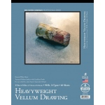 "Bee Paper® Heavyweight Vellum Drawing Pad 11"" x 14"": Tape Bound, White/Ivory, Pad, 40 Sheets, 11"" x 14"", Tracing, 90 lb"