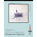 "Bee Paper® Hampton Sketch Pad 11"" x 14""; Binding: Tape Bound; Color: White/Ivory; Format: Pad; Quantity: 50 Sheets; Size: 11"" x 14""; Type: Sketching; Weight: 60 lb; (model B825T50-1114), price per 50 Sheets pad"