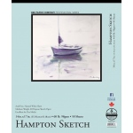 "Bee Paper® Hampton Sketch Pad 14"" x 17""; Binding: Tape Bound; Color: White/Ivory; Format: Pad; Quantity: 50 Sheets; Size: 14"" x 17""; Type: Sketching; Weight: 60 lb; (model B825T50-1417), price per 50 Sheets pad"