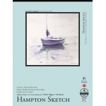 "Bee Paper® Hampton Sketch Pad 18"" x 24""; Binding: Tape Bound; Color: White/Ivory; Format: Pad; Quantity: 50 Sheets; Size: 18"" x 24""; Type: Sketching; Weight: 60 lb; (model B825T50-1824), price per 50 Sheets pad"