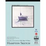 "Bee Paper® Hampton Sketch Pad 9"" x 12"": Tape Bound, White/Ivory, Pad, 50 Sheets, 9"" x 12"", Sketching, 60 lb, (model B825T50-912), price per 50 Sheets pad"
