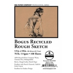 "Bee Paper® Bogus Recycled Rough Sketch Sheets 12"" x 18""; Color: Brown; Format: Sheet; Quantity: 100 Sheets; Size: 12"" x 18""; Type: Sketching; Weight: 70 lb; (model B892P100-1218), price per 100 Sheets"