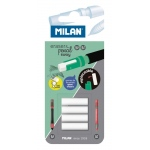 Milan® Mechanical Pencil Eraser Refills (HB); Quantity: 4-Pack; Type: Battery; (model BTM10328), price per 4-Pack