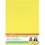 "Crescent® Yellow Dry Erase Board; Color: Yellow; Format: Board; Size: 9"" x 12""; Texture: Smooth; Type: Dry Erase; (model C12-403), price per each"