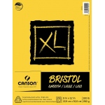 "Canson® XL® 9"" x 12"" Smooth Bristol Pad (Fold Over); Binding: Fold Over; Color: White/Ivory; Format: Pad; Size: 9"" x 12""; Texture: Smooth; Type: Bristol; Weight: 100 lb; (model C400061834), price per pad"