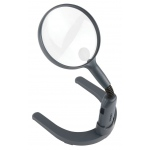 "Carson® MagniLamp™ Lighted Magnifier: White/Ivory, 2x/3.5x, 4.3"", Desk, (model CGN55), price per each"
