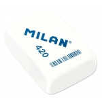Milan® Square Synthetic Rubber Erasers; Color: White/Ivory; Quantity: 20-Box; Type: Manual; (model CMM420), price per 20-Box box
