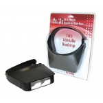Carson® MagniVisor™ Head-Worn Magnifier; Magnification: 2x/3x; Type: Binocular; (model CMV23), price per each