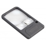 Carson® LED Pocket Magnifier™: 2.5x/5x/6x, Pocket, (model CPM33), price per each