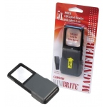 Carson® MiniBrite™ LED Pocket Slide-Out Magnifier: 5x, Pocket, (model CPO55), price per each