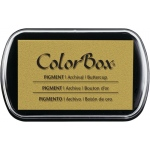 "ColorBox® Full Size Ink Pad Buttercup; Color: Yellow; Format: Pad; Ink Type: Pigment; Size: 2 1/2""l x 4""w x 1/4""h; (model CS15227), price per each"