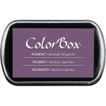 "ColorBox® Full Size Ink Pad Hyacinth; Color: Purple; Format: Pad; Ink Type: Pigment; Size: 2 1/2""l x 4""w x 1/4""h; (model CS15229), price per each"