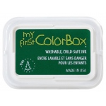 My First ColorBox® Washable Full Size Ink Pad Tree: Green, Pad, Dye-Based, Full Size Rectangle, (model CS68050), price per each