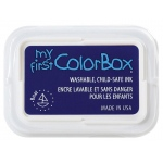 My First ColorBox® Washable Full Size Ink Pad Boat: Blue, Pad, Dye-Based, Full Size Rectangle, (model CS68054), price per each