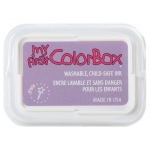My First ColorBox® Washable Full Size Ink Pad Pixie; Color: Purple; Format: Pad; Ink Type: Dye-Based; Shape: Full Size Rectangle; (model CS68055), price per each
