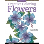"Design Originals Flowers Creative Coloring Books for Adults; Format: Book; Size: 8 1/2"" x 11""; (model DO5505), price per each"