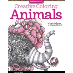 "Design Originals Animals Creative Coloring Books for Adults; Format: Book; Size: 8 1/2"" x 11""; (model DO5506), price per each"