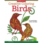 "Design Originals Birds Creative Coloring Books for Adults; Format: Book; Size: 8 1/2"" x 11""; (model DO5538), price per each"