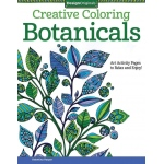 "Design Originals Botanicals Creative Coloring Books for Adults; Format: Book; Size: 8 1/2"" x 11""; (model DO5539), price per each"
