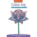 "Design Originals Color Joy Mini Creative Coloring Books for Adults; Format: Book; Size: 8 1/2"" x 11""; (model DO5566), price per each"