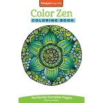 "Design Originals Color Zen Mini Creative Coloring Books for Adults; Format: Book; Size: 8 1/2"" x 11""; (model DO5567), price per each"