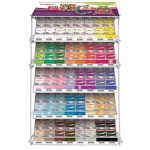 Sculpey® III Full Line Display: Metallic, Bar, Polymer, 2 oz, Oven Bake, (model DR75S5), price per each