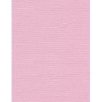 "My Colors Canvas 80 lb. Textured Cardstock Pale Blossom 8.5 x 11; Color: Red/Pink; Format: Sheet; Quantity: 25 Sheets; Size: 8 1/2"" x 11""; Texture: Canvas; Weight: 80 lb; (model E051109), price per 25 Sheets"