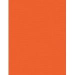 "My Colors Canvas 80 lb. Textured Cardstock Mandarin 8.5 x 11; Color: Orange; Format: Sheet; Quantity: 25 Sheets; Size: 8 1/2"" x 11""; Texture: Canvas; Weight: 80 lb; (model E053308), price per 25 Sheets"