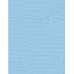 "My Colors Canvas 80 lb. Textured Cardstock Sky 8.5 x 11; Color: Blue; Format: Sheet; Quantity: 25 Sheets; Size: 8 1/2"" x 11""; Texture: Canvas; Weight: 80 lb; (model E057727), price per 25 Sheets"
