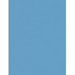 "My Colors Canvas 80 lb. Textured Cardstock Madras Blue 8.5 x 11; Color: Blue; Format: Sheet; Quantity: 25 Sheets; Size: 8 1/2"" x 11""; Texture: Canvas; Weight: 80 lb; (model E057728), price per 25 Sheets"