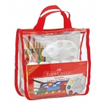 Faber-Castell® Young Artist Learn to Paint Set; Age Level: 5+; Type: Children's Art Kit; (model FC14519), price per set
