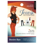 Jacquard Jeanie Orange Denim Dye; Color: Orange; Format: Packet; Type: Denim Dye; (model JJD002), price per each