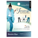 Jacquard Jeanie Turquoise Denim Dye; Color: Blue; Format: Packet; Type: Denim Dye; (model JJD007), price per each