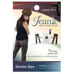 Jacquard Jeanie Chestnut Denim Dye; Color: Brown; Format: Packet; Type: Denim Dye; (model JJD010), price per each