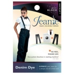 Jacquard Jeanie Black Denim Dye: Black/Gray, Packet, Denim Dye, (model JJD011), price per each