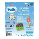Sculpey® Pluffy® Primary Variety Pack: 8+, Assorted, 6-Pack, 6 oz, Oven Bake, (model K34300), price per 6-Pack