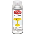 Krylon® Clear Dry Erase Spray Paint: Clear, Spray Can, 12 oz, Dry Erase, (model K3940), price per each