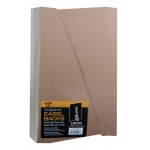 "Lineco® 12"" Glue-On Easel Backs; Color: Brown; Quantity: 100-Pack; Size: 12""; Type: Easel Backs; (model L328-1312S), price per 100-Pack"