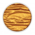Finetec Artist Mica Watercolor Pan Refill - Inca Gold: Metallic, Pan, Refill, Watercolor, (model M620), price per each