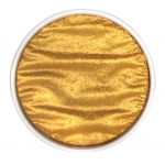 Finetec Artist Mica Watercolor Pan Refill - Gold Pearl; Color: Metallic; Format: Pan; Refill: Yes; Type: Watercolor; (model M640), price per each
