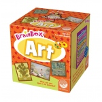 Mindware® Brain Box® Art Trivia Game; Type: Trivia; (model MW68464), price per each