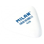 Milan® Triangular Synthetic Rubber Eraser Display; Color: White/Ivory; Format: Can; Type: Manual; (model PMM428D), price per each