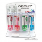 Pentel® Orenz™ 1-Click Mechanical Pencil Display: Display, (model PP500-24D), price per each