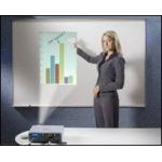 Ghent® Proma® Projection Surface/Porcelain Markerboard 3' x 4': 3' x 4', Dry Erase, (model PRM1-34-4), price per each