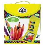 Royal & Langnickel® Keep N' Carry™ Drawing Set; Type: Children's Art Kit, Drawing; (model RTN-163), price per set