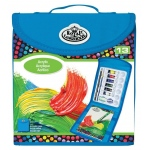 Royal & Langnickel® Keep N' Carry™ Acrylic Painting Set; Type: Acrylic, Children's Art Kit; (model RTN-167), price per set