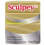 Sculpey® III  Polymer Clay Buried Treasure: Brown, Bar, Polymer, 2 oz, (model S302380), price per each