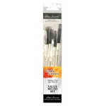 Daler-Rowney Simply Simmons Creative Instinct 5-Brush Set; Material: Synthetic Bristle; Type: Acrylic; (model SS255500004), price per set